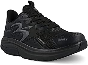 Gravity Defyer Women's G-Defy Energiya 7 M US - Hybrid VersoShock Performance Shock-Absorbing Cross-Trainer Shoes Black