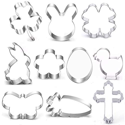 BakingWorld Easter Cookie Cutter Set