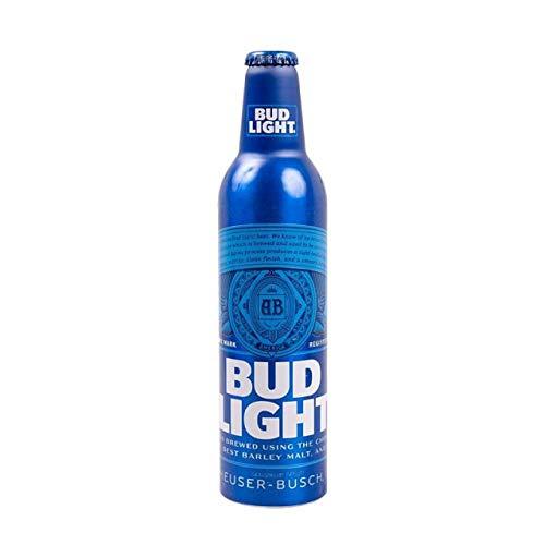 BUD LIGHT® - Aluminium Flasche 24 x 473ml amerikanisches Bier, American Beer | Das NO.1 aus den USA als Original Importware, auch als perfektes Bier Geschenk für Männer