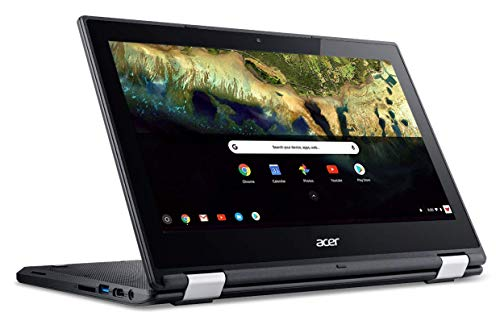 Latest_Acer Chromebook R 11 Convertible Laptop, Intel Celeron N3060, 11.6 HD Touch, 4GB RAM, 32GB eMMC SSD, Google Chrome OS