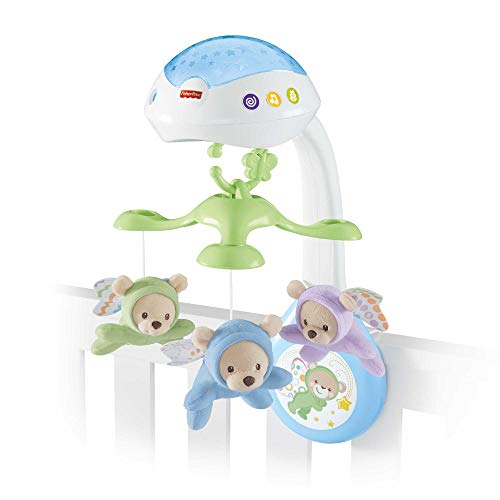 Fisher-Price Butterfly Dreams 3-in-1 Projection Mobile Crib Toy