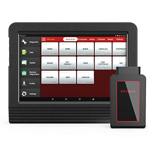 Launch X431 V+ OBD2 Diagnosegerät,Android Tablettdiagnosen mit Wifi Bluetooth,alle System zurücksetzen kann und ECU Codierung,Steuergeräte Programmierung
