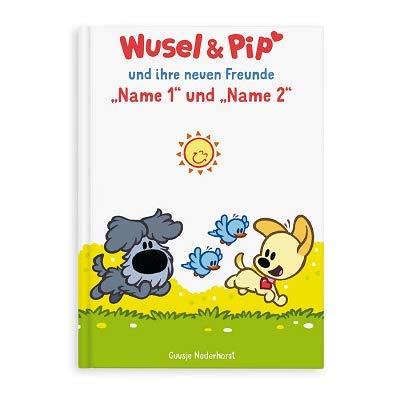 YourSurprise personalisiertes Kinderbuch Wusel & Pip und Ihr Freund, PERSONALISIERBAR mit Namen, Hardcover mit Liebe gemacht (Wusel & Pip Geschwister/Zwillinge)