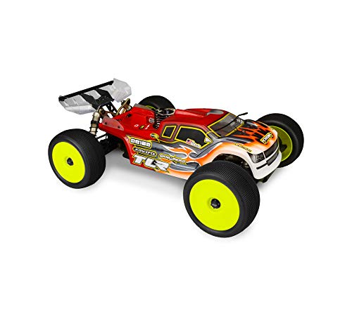 Price comparison product image J Concepts 0312 Finnisher TLR 8Ight-T 4.0 Roar National Champion Clear Body
