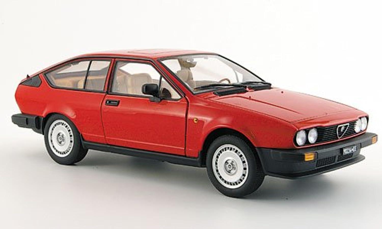 Alfa Romeo Alfetta GTV 2.0, rot, 1980, Modellauto, Fertigmodell, Auto Art 1 18 B004V8QWPO Gute Qualität  | Neue Sorten werden eingeführt