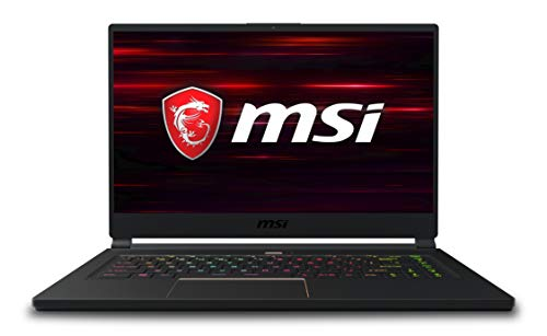 MSI GS65 Stealth Thin 8RE-085IT Notebook da Gaming, Display da 15.6', Processore Intel i7-8750H, 16 GB di RAM, SSD da 512 GB NVMe, Scheda Grafica nVidia GTX 1060 [Layout Italiano]