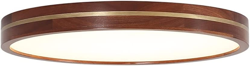 OSHUAYUNA Nordic Style Wooden Lamp Ceiling Max 47% OFF 11.8 Inch 18W R Popular product Light