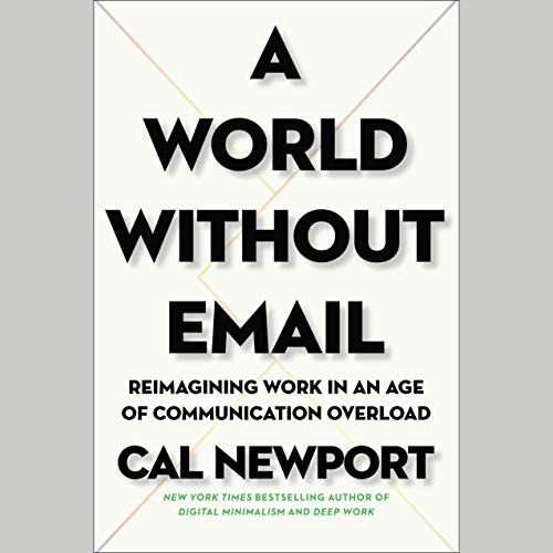 A World Without Email audiobook cover art