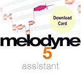 Celemony Melodyne Assistant 5 (Download Card) Pitch/Time Shifting Software for Audio Professionals