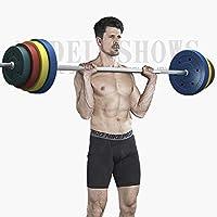 バーベル カラー バーベルシャフト グリップ 滑り止め加工 重さ調節可能 筋トレ トレーニング ( 80kgセット)