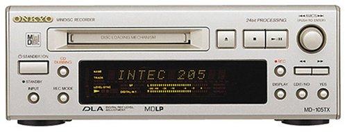 ONKYO INTEC205 MDLP対応MDデッキ MD-105TX(S)