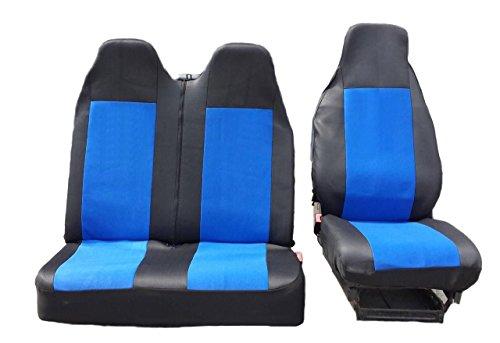 2 + 1 maat 2 zwart-blauw beschermhoes stoelbekleding stoelbekleding stoelhoezen stoelhoezen