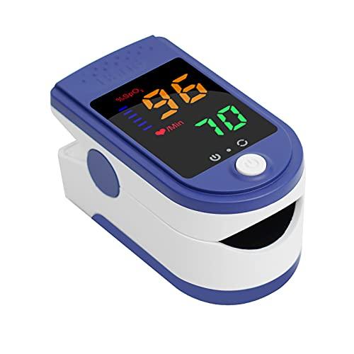 パルスオキシメーター 血中酸素濃度 測定器 日本製 医療機器認証 家庭用 心拍計 spo2 脈拍測定器 クリップ式 ワンタッチ 簡単操作 5秒測定 液晶 き 携帯便利 一年保証付