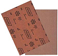 Kit C/ 50 Lixa Seco A275 NOFIL Grão 180 Norton