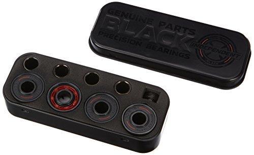 Independent Truck Company BOX/8 Genuine Parts Skateboard Bearing (1 Set), Black