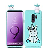 LAXIN Compatible with Samsung Galaxy S9 Plus Case Silicone Gel Shockproof Phone Protective Cover...