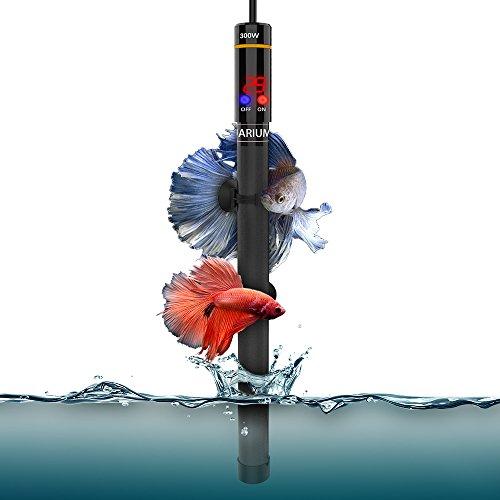 WOLFWILL 300W Aquarium Heizer Regelheizer Aquarium Heizstab mit LED-Anzeiger für Fische
