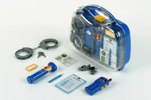 Klein - 8882 - Jeu d'imitation - Mallette de policier avec lampe torche et talkie-walkie