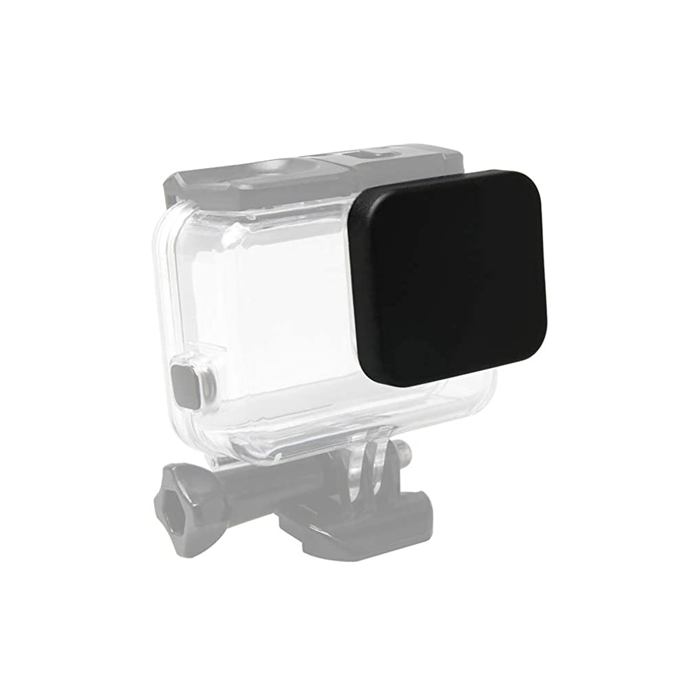 TPOTOO Protective Waterproof Housing Case Lens Cover Cap PC Material Dust-Proof Cover Replacement for GoPro Hero 5/6/7 Black Waterproof Housing Case