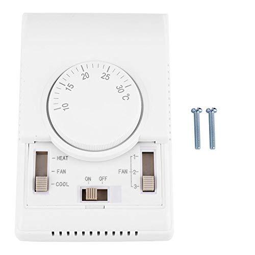 Boaby termostato mecánico habitación aire acondicionado central termostato regulador controlador de temperatura interruptor