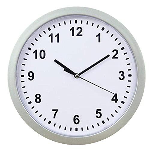 Riyyow 1 PC con espesas de Almacenamiento Reloj de Pared Caja Fuerte Reloj de Almacenamiento Reloj de joyería Caja de Almacenamiento Montado en la Pared Decoración del hogar