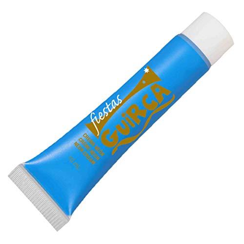 Guirca 15659 Tubetto Maquillage Fond de Teint Fluo Couleur Bleu 10 ml