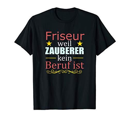 Herren T-Shirt Friseur Geschenk Haarstudio