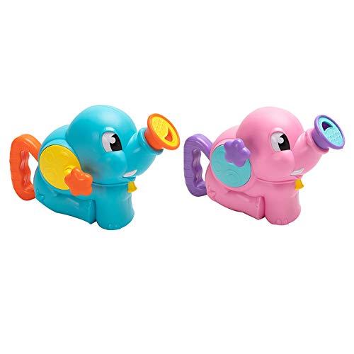 WFF Spielzeug Bewässerung Badespielzeug for Kinder, Pool Spielzeug-Geschenk-Set bestehend aus 2 Stück, for 6 Monate und Up-Jungen-Mädchen-Spielzeug-Wasser (Color : Blue+pink)