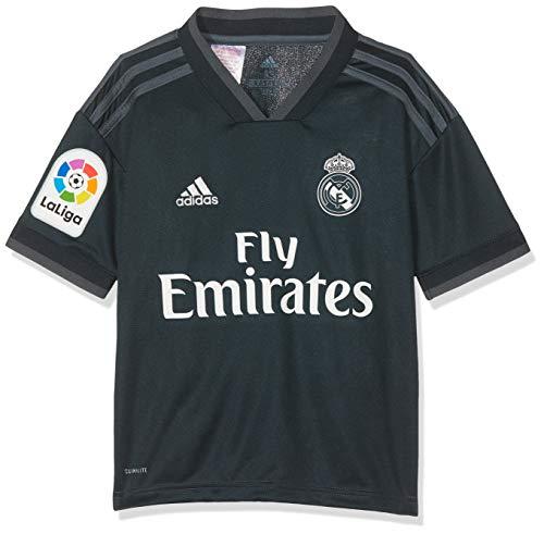 adidas 18/19 Real Madrid Away-Lfp Camiseta, Niños, Gris (ónitéc/onifue/Blanco), 128