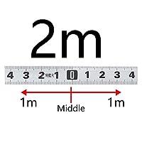 計量マイタートラックテープメジャー0.5 ''スチールの自己接着スケールルーラーテープ1-5mのための1-5m Tトラック木工ツール (色 : SS 2M M)