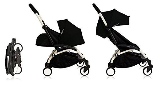 Babyzen YoYo+ Stroller Bundle (Yoyo+ Stroller, Canopy & Newborn Pack) Black
