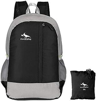 Famebird Durable Lightweight 25L Water Resistant Travel Hiking Backpack