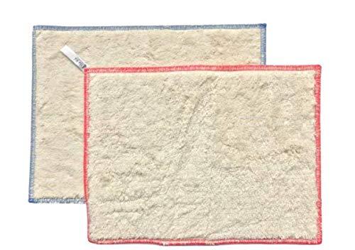 2 x Ha-Ra Natura doek (rood en blauw omrandd) (22 x 29 cm)