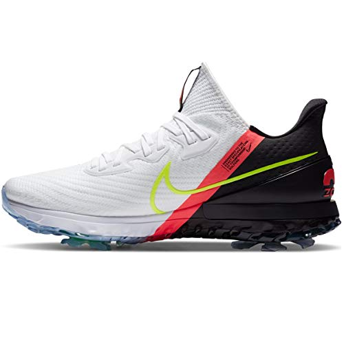 Nike Air Zoom Infinity Tour Golf Shoes (White/Flash Crimson, Numeric_13)