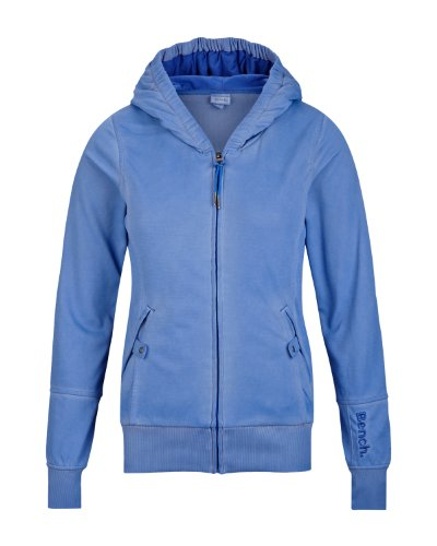 Bench Damen Sweatshirt Trikotjacke Bridgelands blau (amparo blue) Large