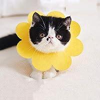 4点セット手術後ケア 猫用品 軽量 薄い 負担なし傷口なめ防止 噛み防止 耳掻きドーナツカラー エリザベス かわいい