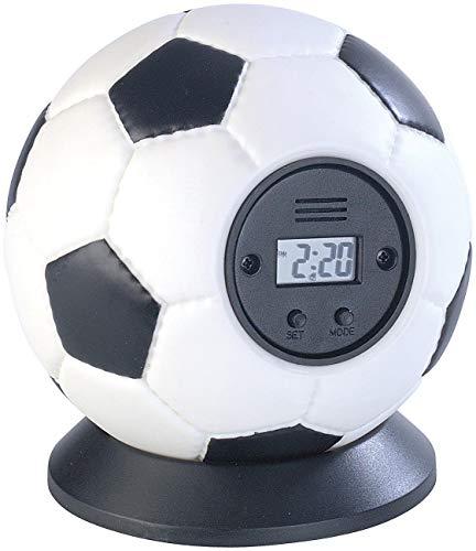Monsterzeug Fußball Wecker zum Werfen, Wurfwecker, Wurf Fußballwecker Kinder, Gadget-Wecker