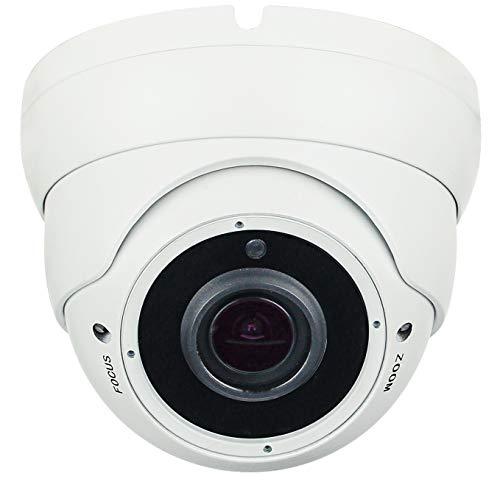 Telecamera dome vandalproof Videosorveglianza Hybrid 4 in 1 Sony Starvis 2Mpx 1080p Full HD AHD CVI TVI cvbs 24 smd IR led Varif