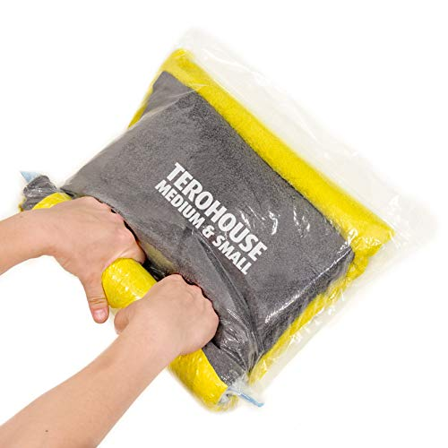 TeroHouse 10 Travel Storage Bags for Clothes Space...