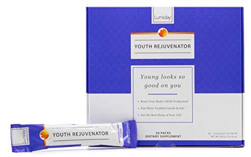 Lumiday Youth Rejuvenator - HGH Booster Supplement for Women, Youth Booster, Sleep Support, Mood Enhancer - Lavender Lemon Flavored