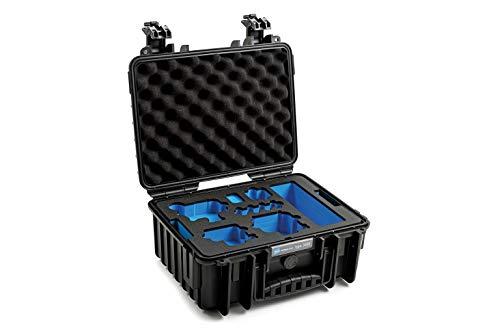 B&W International GmbH Maletín de Transporte Exterior para GoPro 9 Tipo 3000 (Impermeable, Certificado IP67, Resistente al Polvo, irrompible y 3000/B/GoPro9), Color Negro