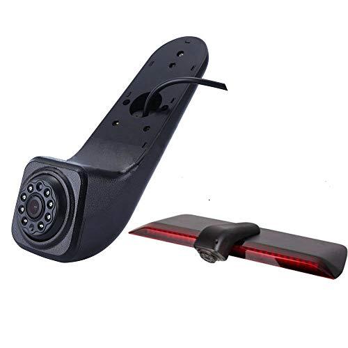 YMPA Rückfahrkamera geeignet kompatibel mit Transporter Volkswagen VW Crafter ab Baujahr Bj 2017 IR mit Nachtsicht 10 Meter Kabel für Rückfahrsystem Monitor