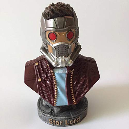SHOP YJX Guardians of The Galaxy Animationsmodell, Star-Lord-Modell Statue, Tischdekoration, 18cm