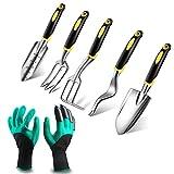Rorchio Outils de Jardinage, 6 Pièces Kit Outillage de Jardin,...