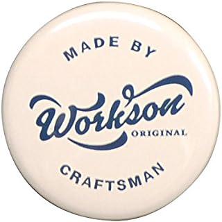 Workson 缶バッジ (ホワイト)