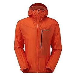 Montane Minimus Jacket - Men's, Firefly Orange, Medium, MMINJFIRM07