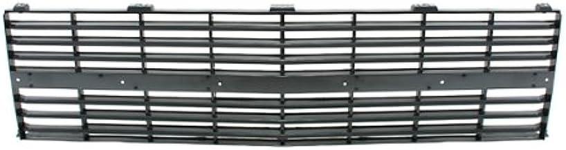 CarPartsDepot 400-15740, Grill Grille Material Black Plastic W/Molding Hole GM1200125 14043881