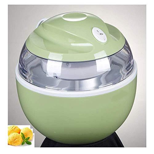LKOER Helado de 500 ml, máquina de Helado DIY automático, Hoja de agitación removible fácilmente Limpia, Electricidad doméstica jinyang