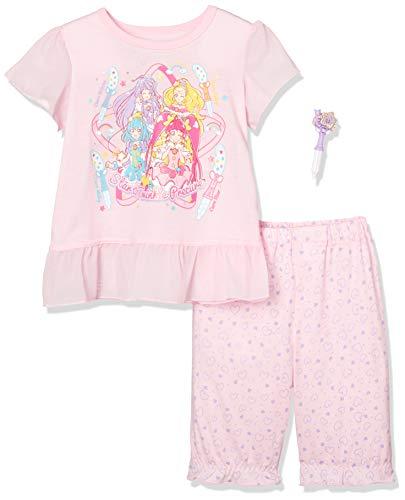 [バンダイ] パジャマ プリキュア半袖玩具つき ガールズ ピンク 日本 120 (日本サイズ120 相当)