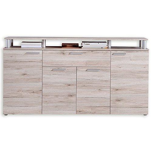 ROLLER Sideboard - Sandeiche - 169,3 cm breit